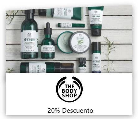 the body shop descuento para estudiantes