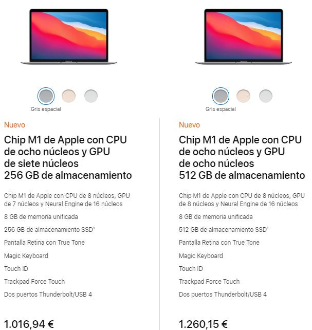 Apple descuento para estudiantes macbook air